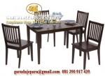set kursi makan minimalis jepara