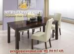 set meja makan minimalis busa
