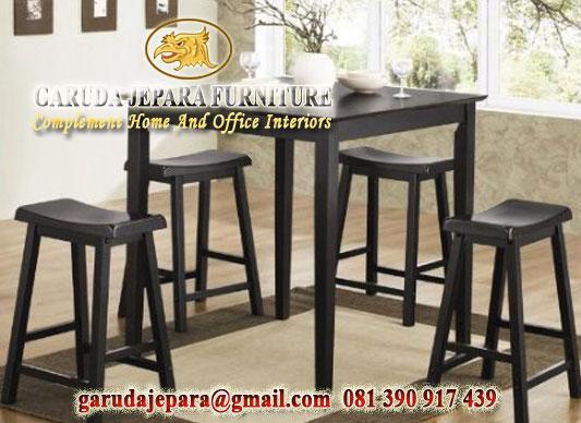 set meja makan minimalis jepara