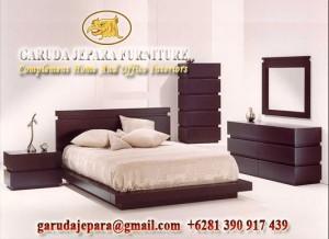 Set Tempat Tidur Minimalis Modern