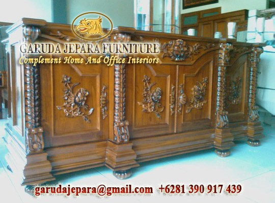 Buffet Ukir Jepara Garuda Furniture