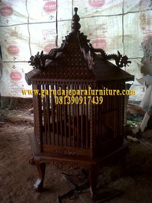 Sangkar Ayam kayu Jati