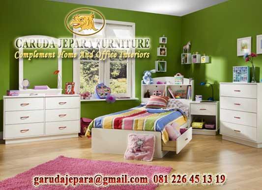 Set Tempat Tidur anak Minimalis