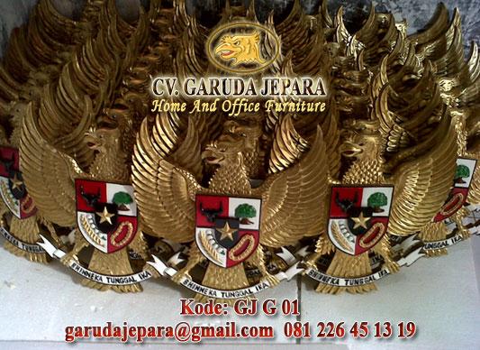 Kerajinan Garuda Pancasila Sesuai Undang-Undang No. 24 Tahun 2009