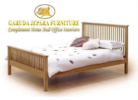 Tempat Tidur Minimalis Jari-Jari