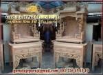 Meja Altar Ukir Naga Kayu Jati