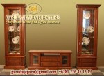 Set Buffet TV Kayu Jati