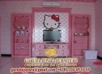 Set Ruang TV Hello Kitty