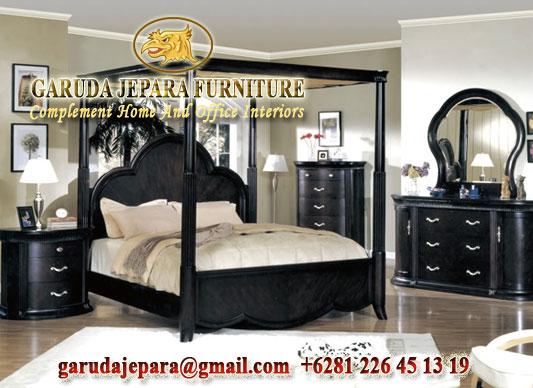 Set Kamar Tidur Canopy Modern