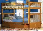 Tempat tidur susun kayu 52