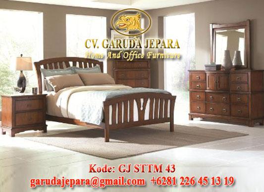 Set Kamar Tidur Minimalis Alexandria