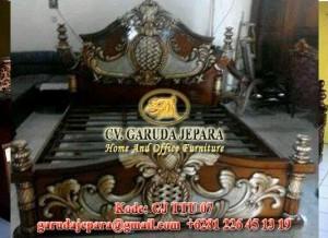 Tempat Tidur Jati Ukir Jaya Baya