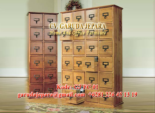 Filling Cabinet Kayu Jati