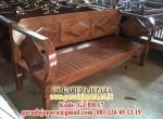 Sofa Kayu Jati Minimalis Panjang