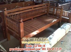Sofa Minimalis Kayu Jati Jepara