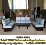 Set Sofa Minimalis Kayu Meh