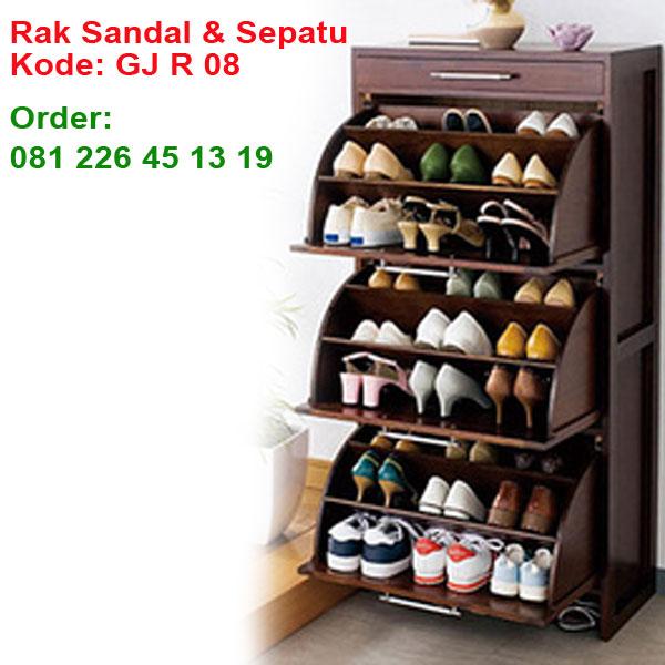 Rak-Sepatu-Dan-Sandal-Kayu-Jati