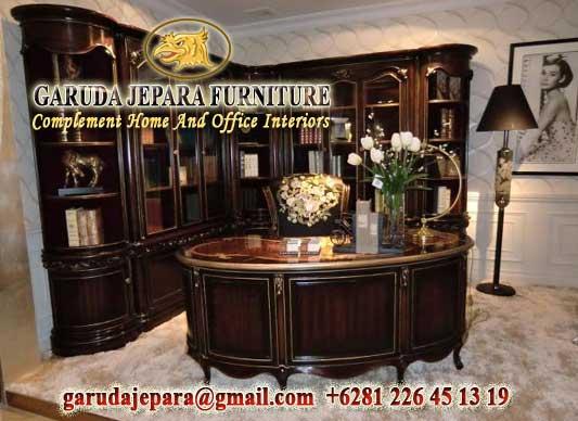 Set Furniture kantor jati