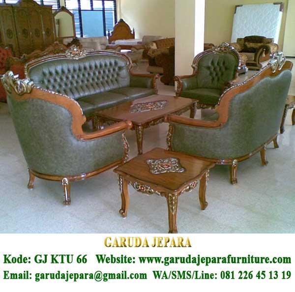 Set Sofa Tamu Ukir Jepara